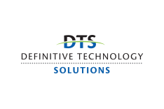 Definitive Technology Solutions - Logo and sales collateral design