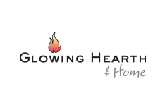 Glowing Hearth & Home - Logo and website design