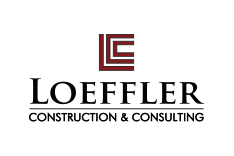 Loeffler Construction & Consulting - Logo, website, apparel, signage and sales collateral design
