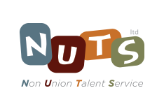 NUTS - Logo, website design and printed promotional materials